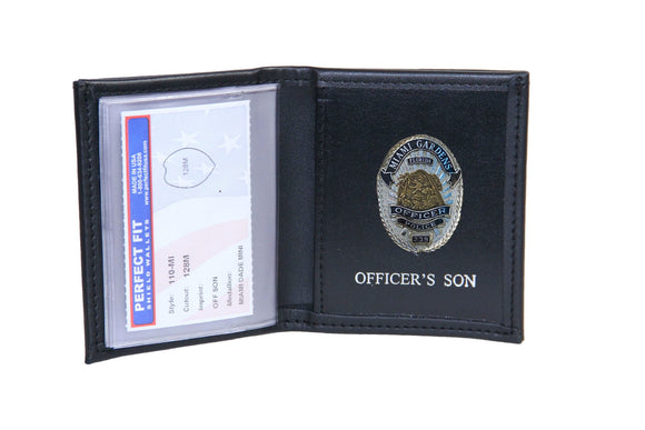 Miami Gardens Police Department Mini Badge ID holder and Wallet (110)