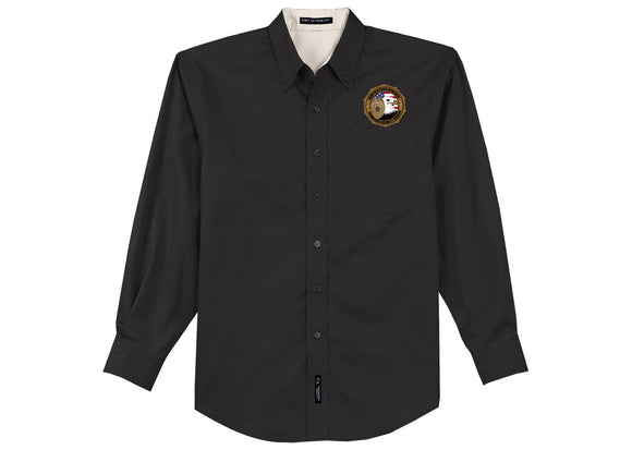 HSB Long Sleeve Easy Care Shirt
