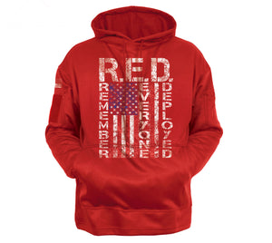 Concealed Carry R.E.D. (Remember Everyone Deployed) Hoodie