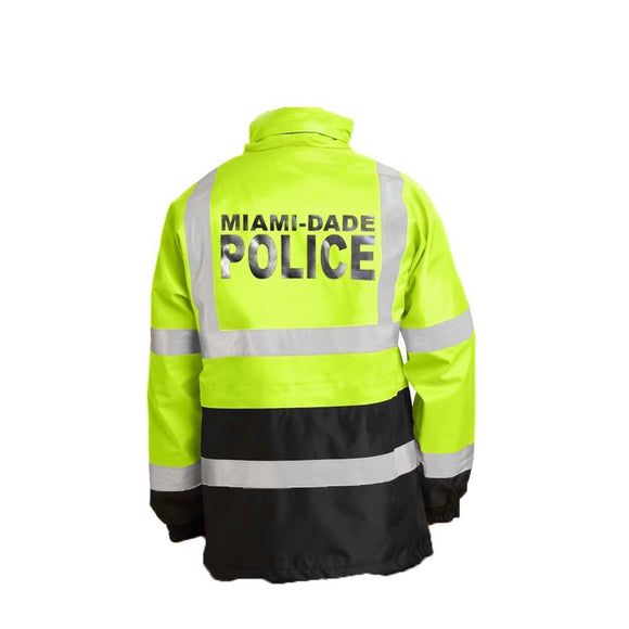 Miami Dade Police Department Waterproof Parka