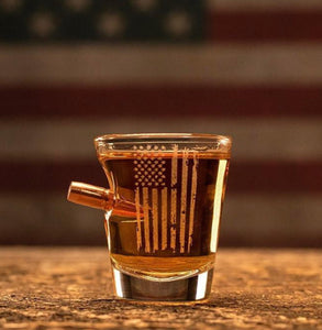 Benshot Patriotic Shot Glass