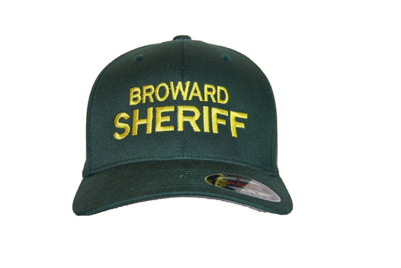 Broward Sheriff Office Flexfit Adult Wooly Cap