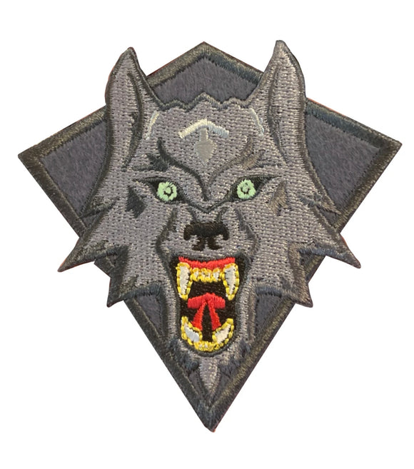 Wolf Grey Patch.
