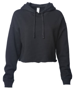 Women's Lightweight Crop Hooded Pullover