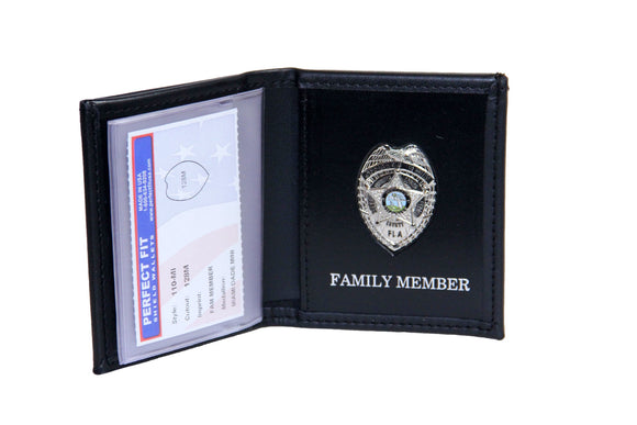 Miami Dade Police Department Mini Badge ID holder and Wallet (110)
