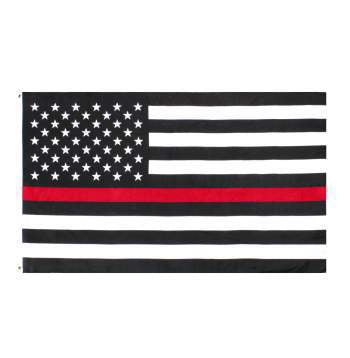 Thin Red Line U.S. Flag