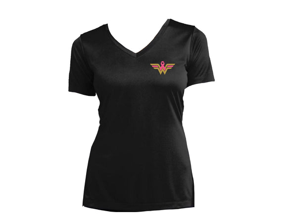 UC Wonder Woman Breast Cancer Awareness Tee