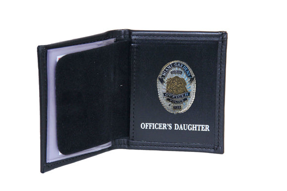 Miami Gardens Police Department Mini Badge ID holder and Wallet (100)
