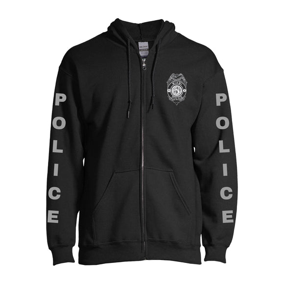 City of Miami Police Department Zip up Hoodie
