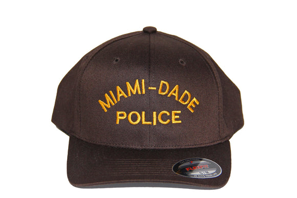 Miami Dade Police Department Flexfit Adult Wooly Cap