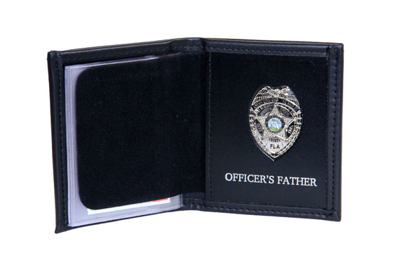 Miami Dade Police Department Mini Badge ID holder and Wallet (100)