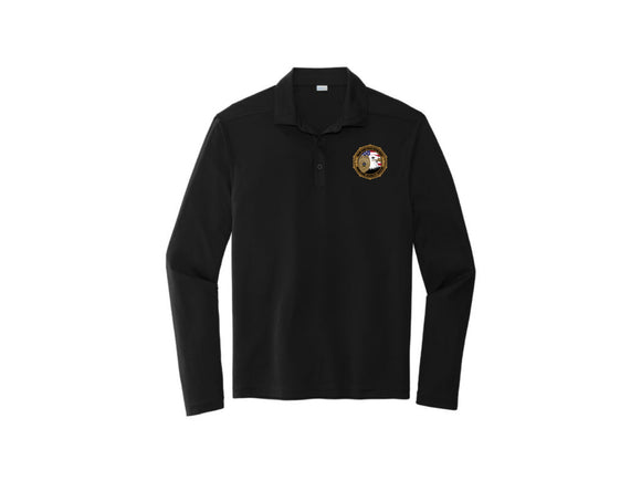 HSB Sport-Tek Long Sleeve Micropique Sport-Wick Polo