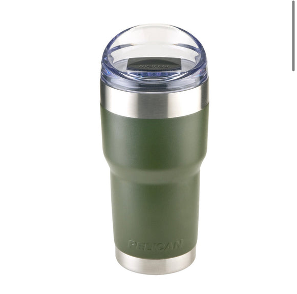 Pelican Travel Tumbler - 22oz - Green - Slide Lid