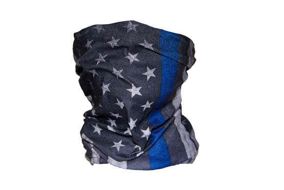 UC Thin Blue Line Faceshield