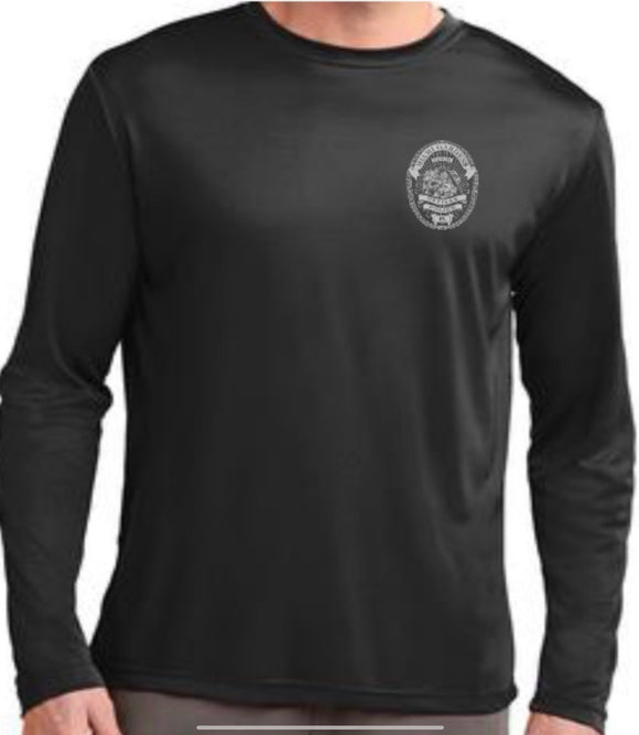 Miami Gardens Police Department Cooling Performance Longsleeve Tee