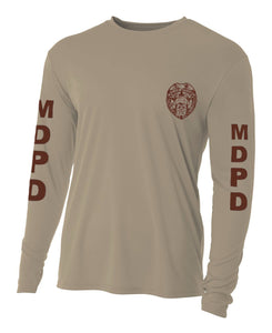 Miami Dade Police Department Long Sleeve Cooling Performance Tee