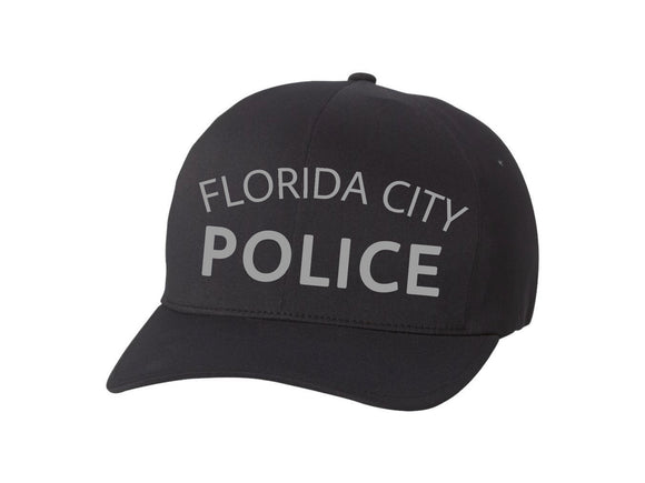 Florida City Police Department Flexfit Adult Delta X-Cap