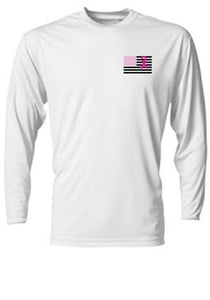 Miami Dade Police Department Northwest District Breast Cancer Awareness Longsleeve Tee
