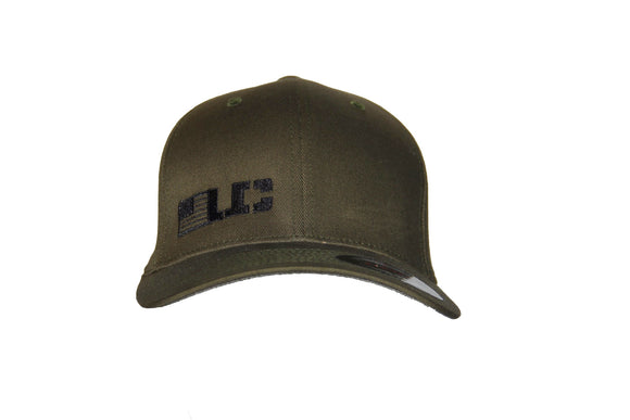 UC Flexfit Military Green Adult Wool Blend Cap