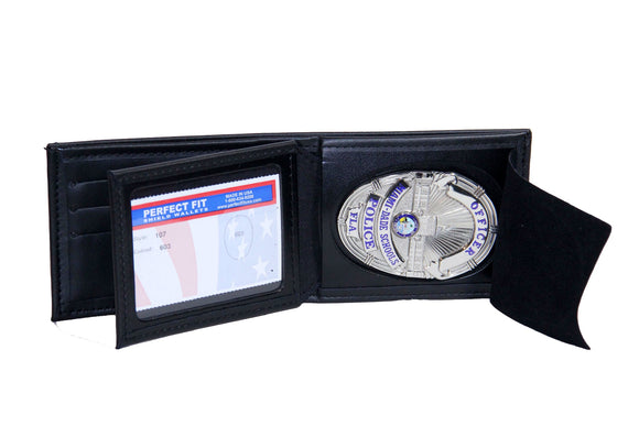 Miami Dade Schools Police Department Mini Badge ID holder and Wallet (107)