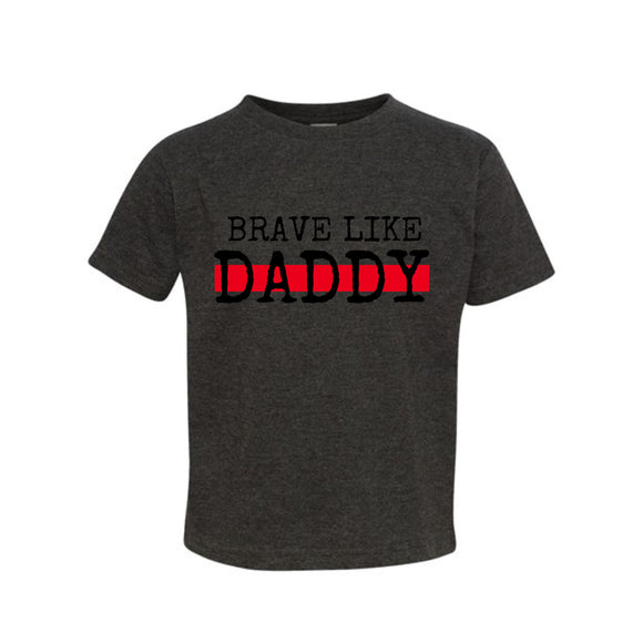 Copy of Brave Like Daddy Toddler