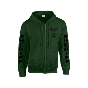 Broward Sheriff's Office Zip Up Hoodie