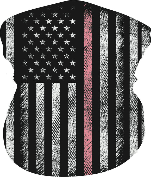 UC Thin Pink Line Faceshield