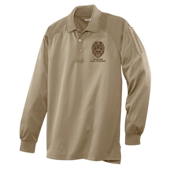 Miami Dade Police Department long Sleeve Snag-Proof Tactical Polo