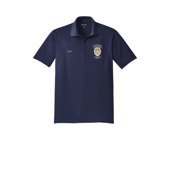 Miami Dade police Department Men's Micropique Sport-Wick Polo
