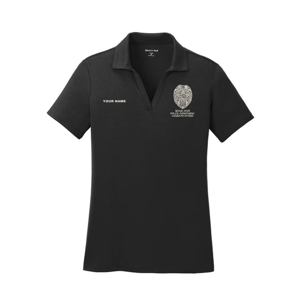 Miami Dade Communications Ladies Short Sleeve Polo