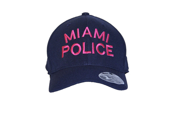 City Of Miami Police Department Breast Cancer Awareness Cap