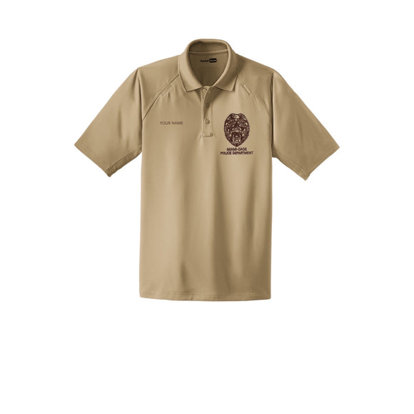 Miami Dade Police Department Male Snag-Proof Tactical Polo