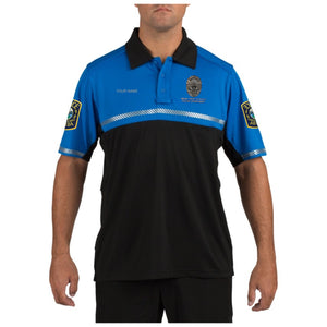 Miami Dade School's Police Department 5.11 Bike Patrol Polo Fully Customized