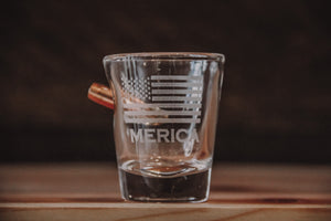 Benshot 'Merica Shot Glass