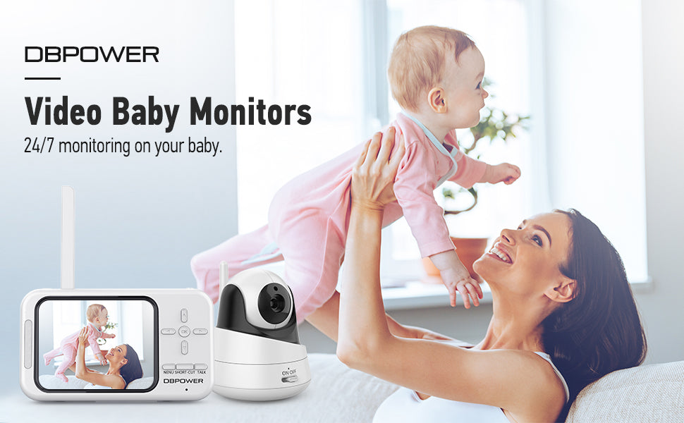 DBPOWER BMO-X1 Video Baby Monitor