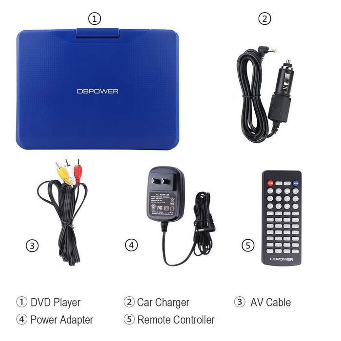 "DBPOWER SY-02 9.5"" DVD PLAYER - DBPOWER"