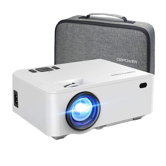 [Upgraded] DBPOWER RD820 5500L Mini Video Projector with Carrying Case - DBPOWER