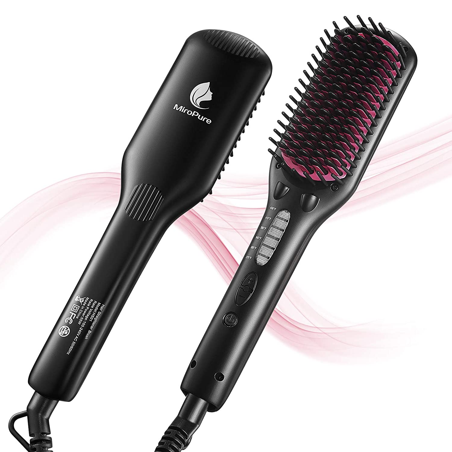MiroPure HS01 Hair Straightener Brush