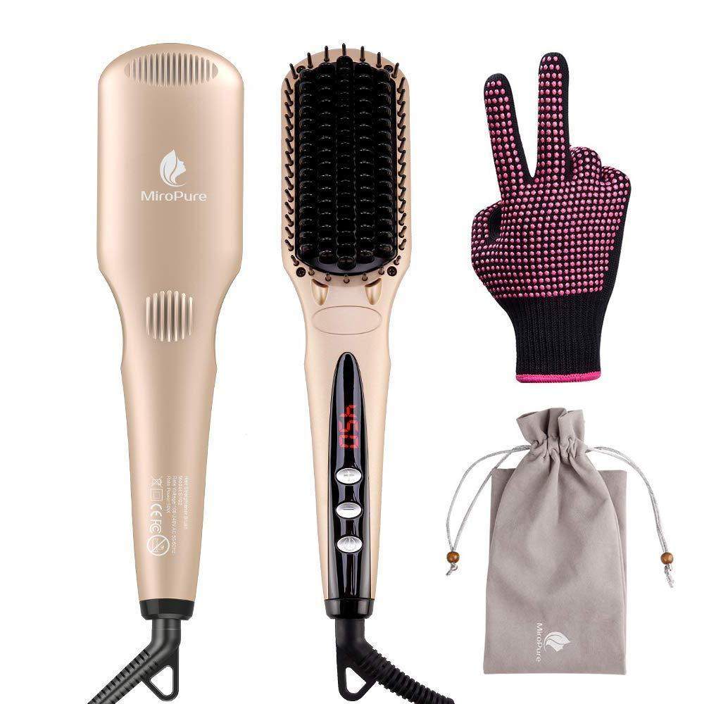 MiroPure S102 Hair Staightener Brush