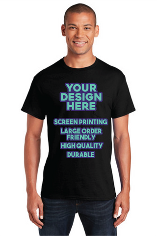Screen Print - Mens Pocket Shirt - Minimum 12+