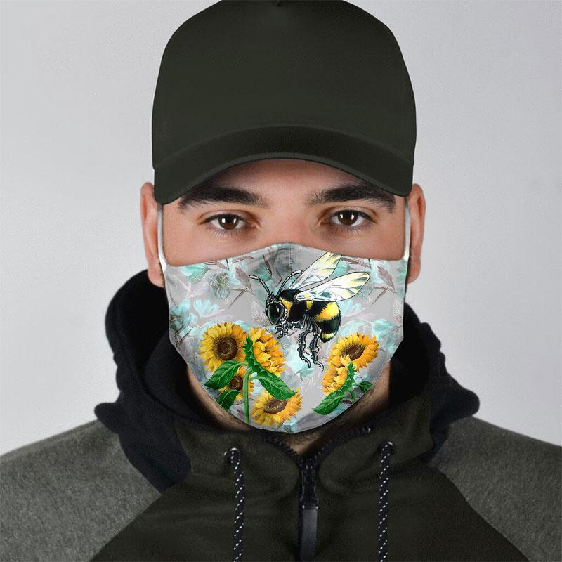 BEE ALL OVER PRINTS CLOTH MASK 29