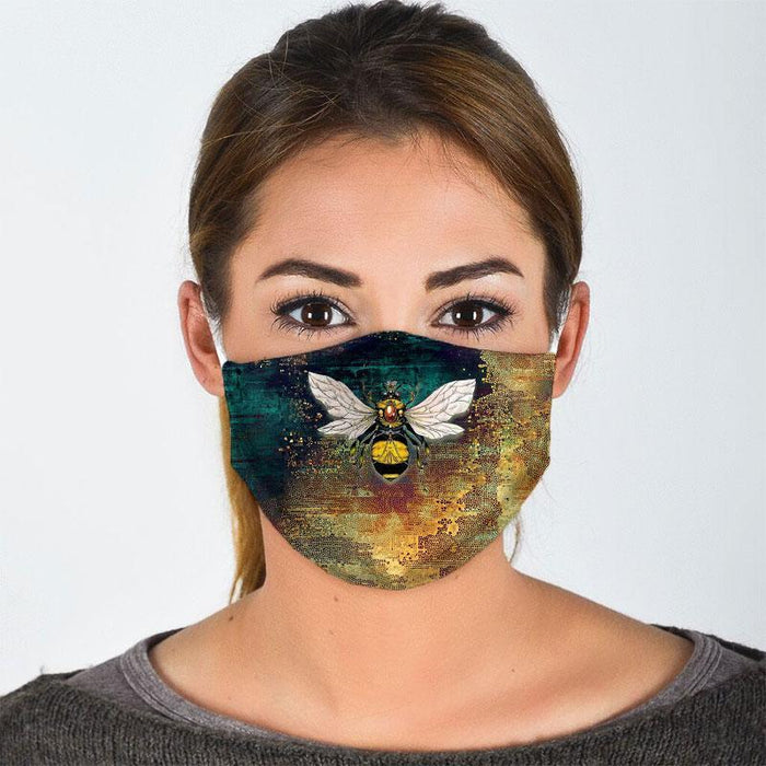 BEE ALL OVER PRINTS CLOTH MASK 40