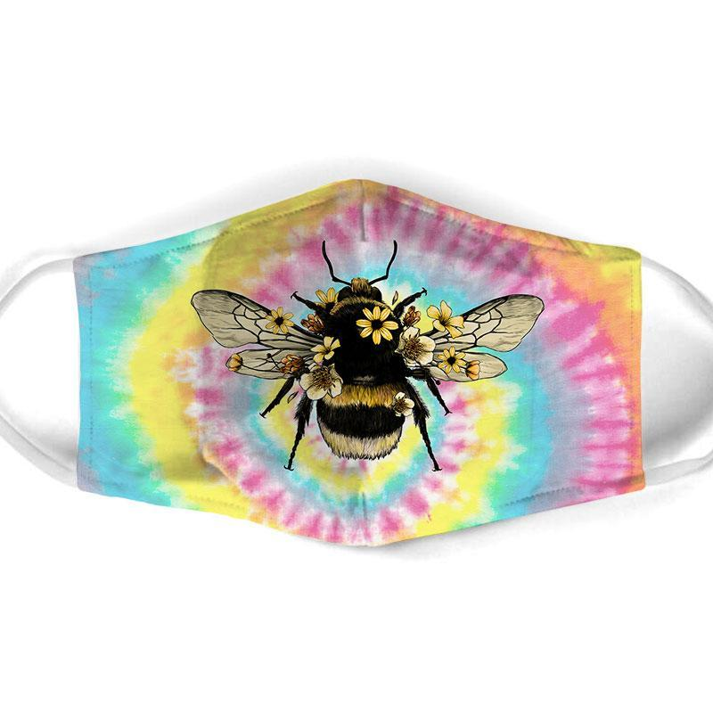 Bee  All Over Prints Cloth Mask 13