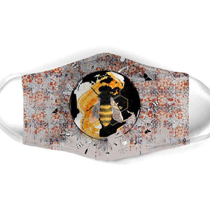 BEE ALL OVER PRINTS CLOTH MASK 71
