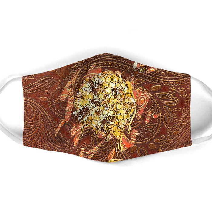 BEE ALL OVER PRINTS CLOTH MASK 73