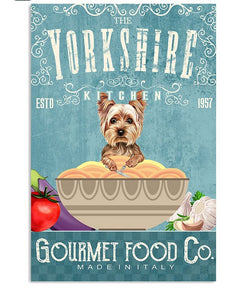 The Yorkshire Terrier Kitchen  Canvas