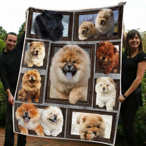 Chow-Chow Blanket - 3D Fleece Blanket