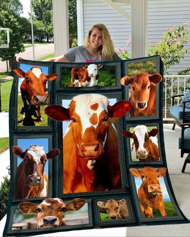 Cow Beauty Blanket