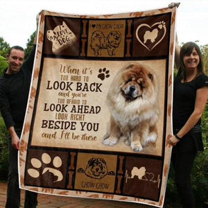 Chow-Chow Blanket 2 - 3D Fleece Blanket