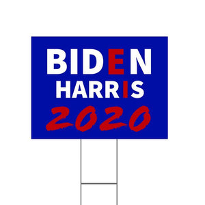 Biden Harris 2020 Yard Sign - Yard Sign